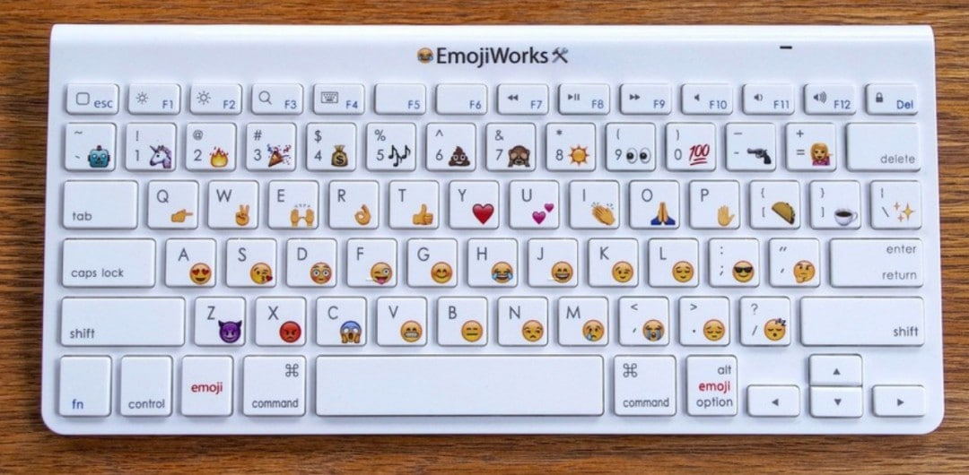 Alphabet Emoji Keyboard