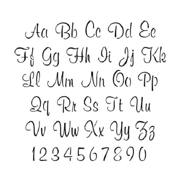 Alphabet Numbers Pattern