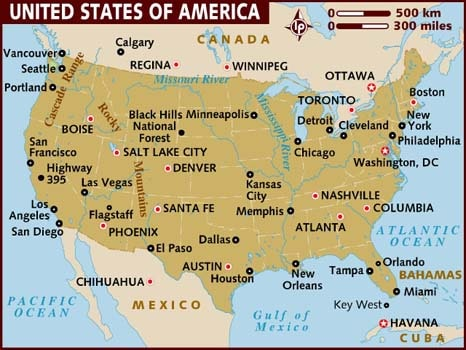 America Map Image