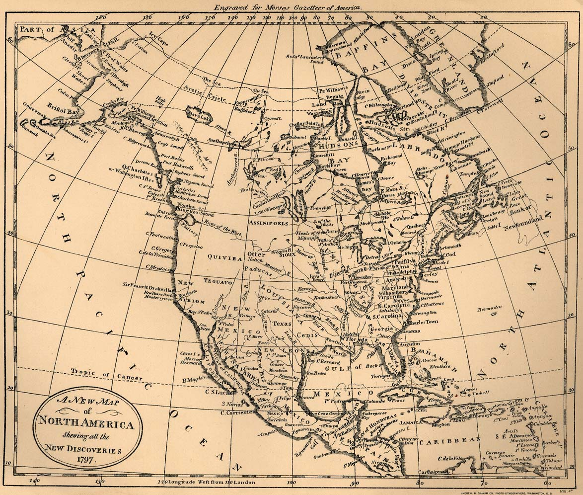 America Map Old