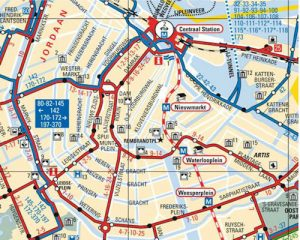 Amsterdam City Map Download