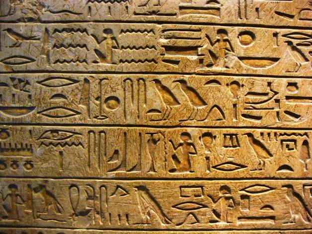 Ancient Egypt Alphabet