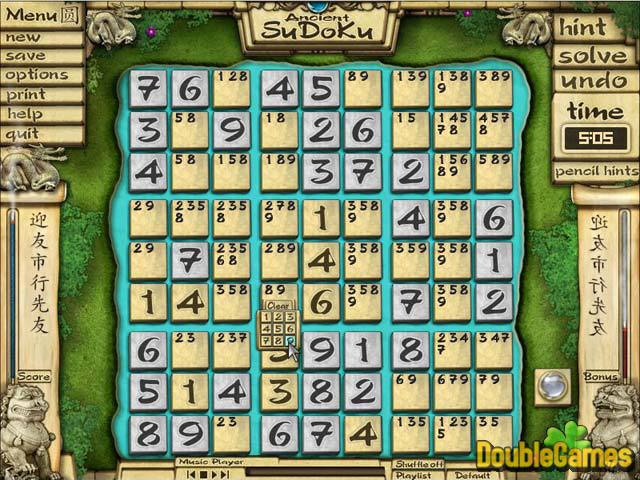 Ancient Sudoku Game Free