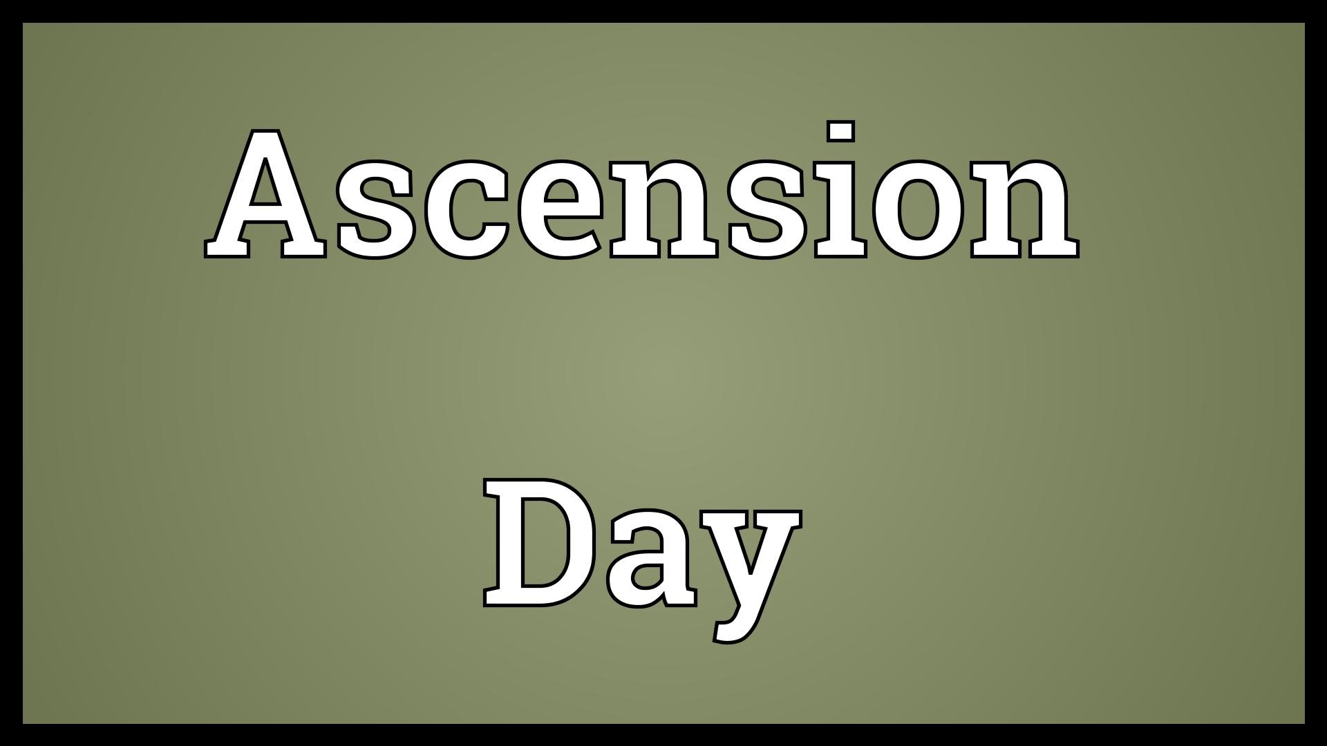 Ascension Day 2017 Simple Quotes