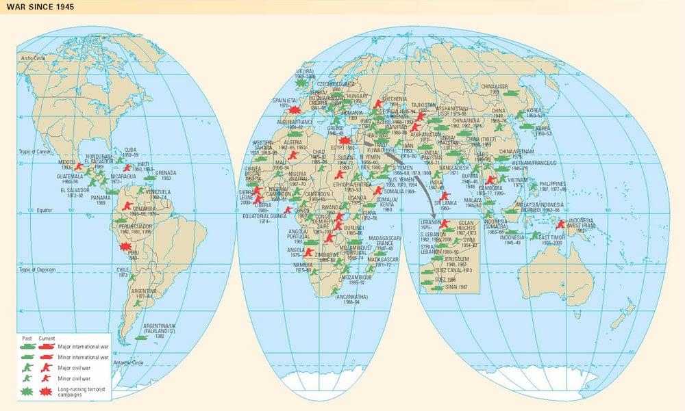 Atlas Global Map