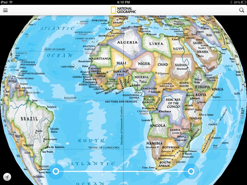 World Atlas Map