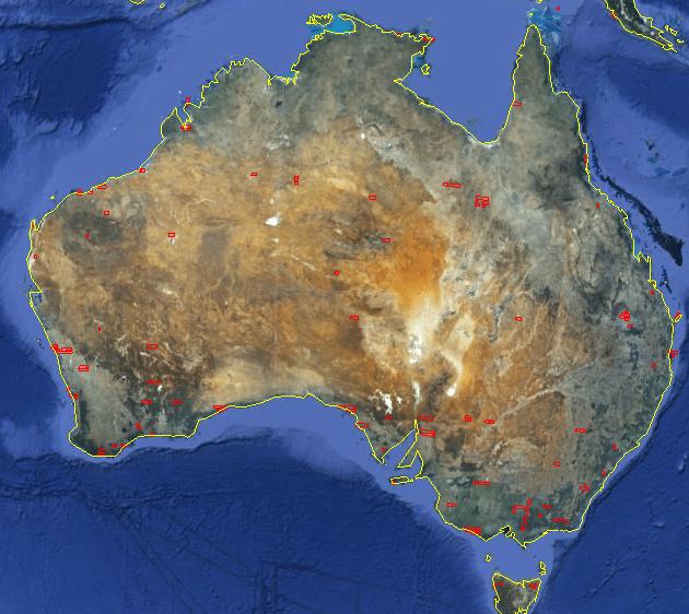 Australia Map Google