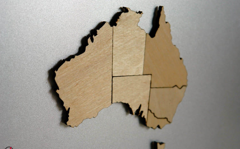 Australia Map Puzzle