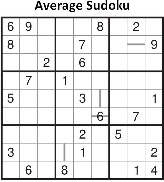 Average Sudoku Fun