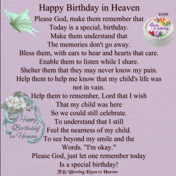 Birthday Memorial Quotes