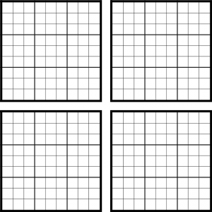 Blank Sudoku Printable Grids