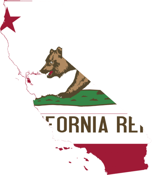California Map Clipart