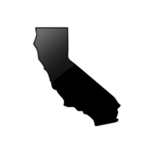 California Map Icon