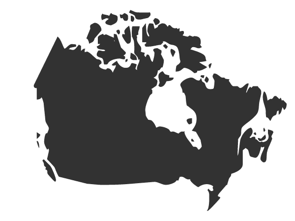 Canada Map Clipart