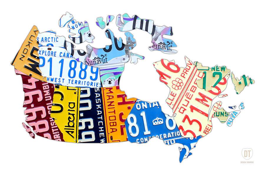 Canada Map Design