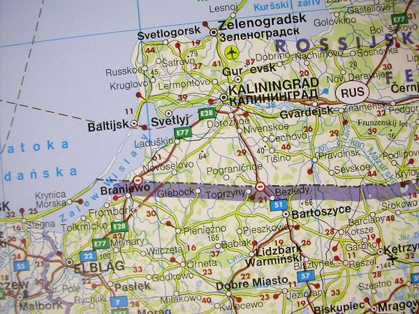 Central Europe Road Map