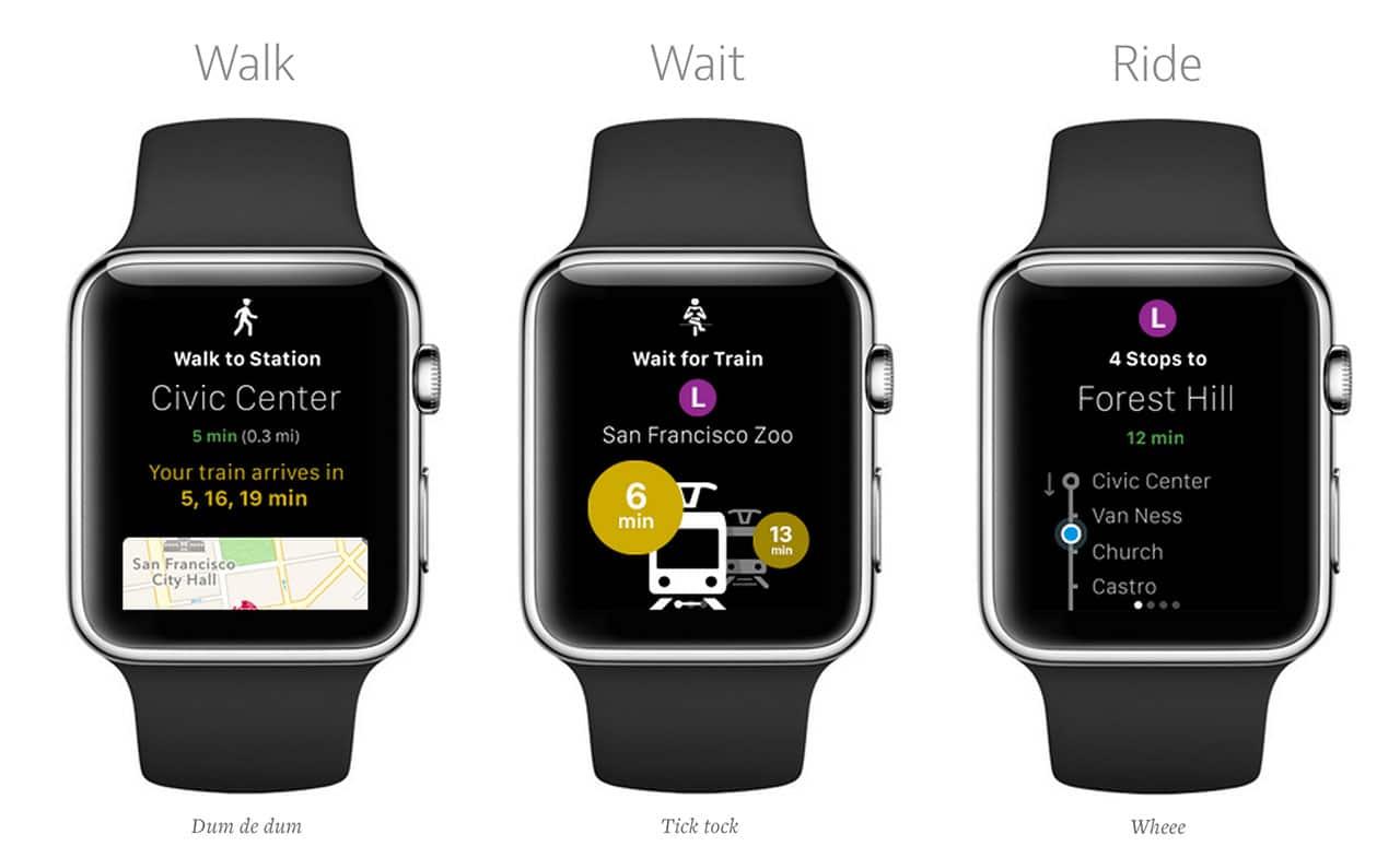 City Mapper Apple Watch