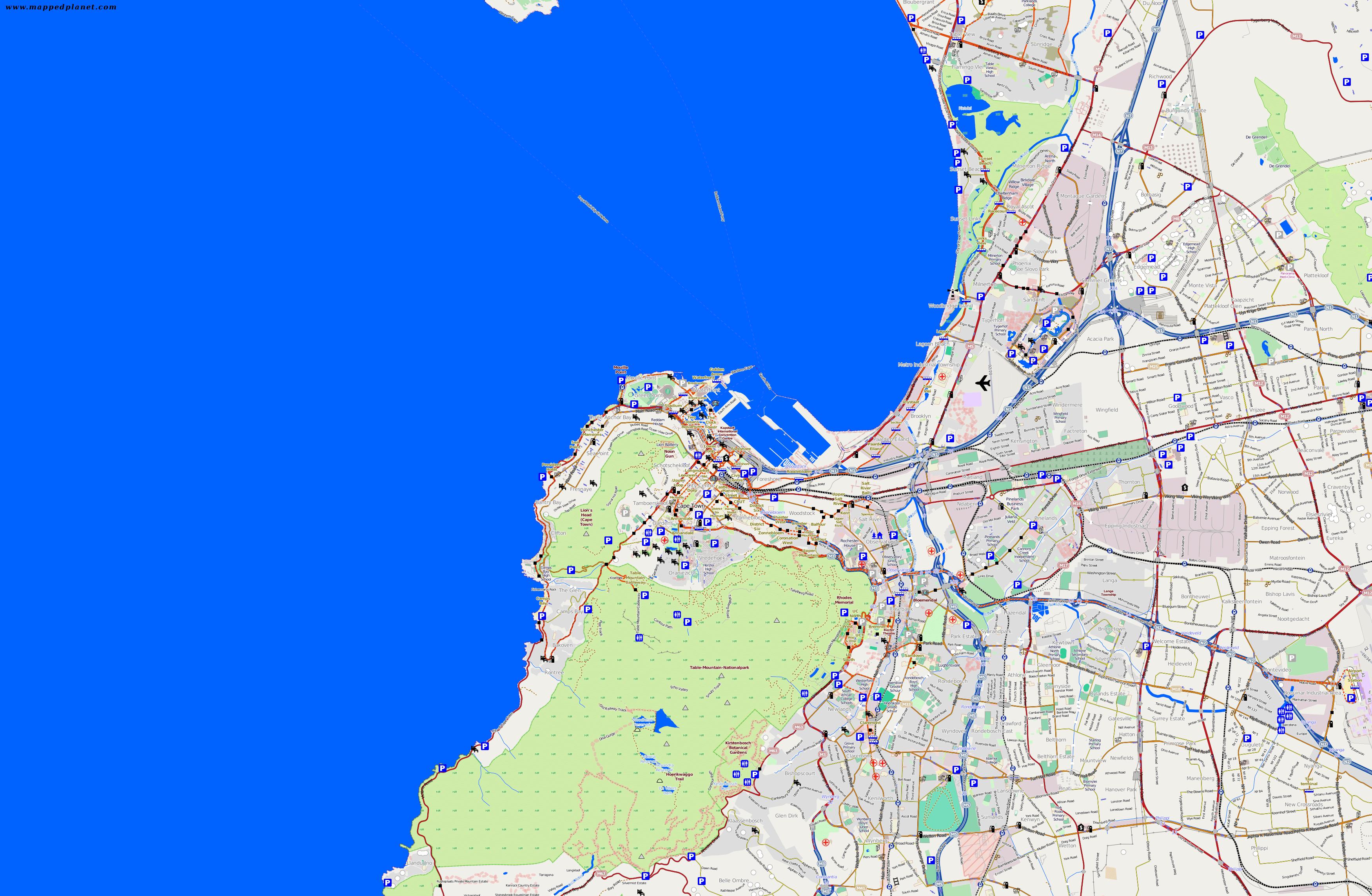 Citymaps Cape Town