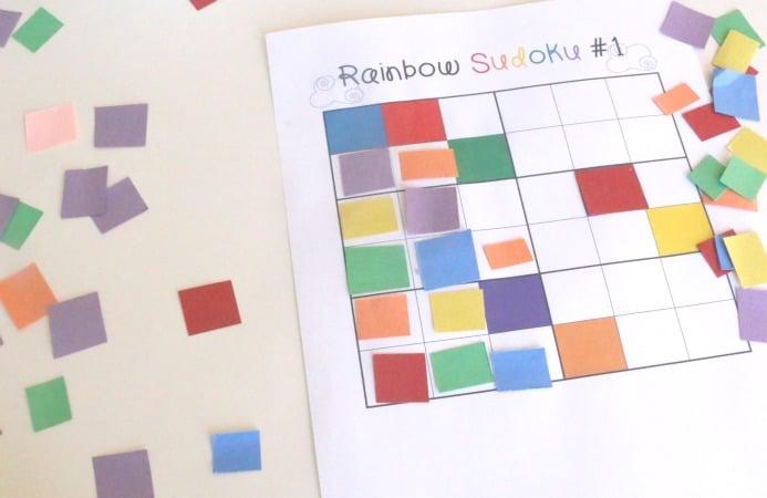 Color Sudoku Art