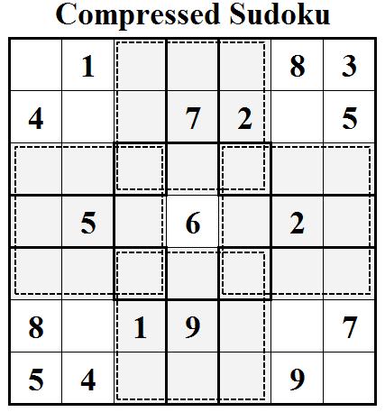 Compressed Sudoku Fun