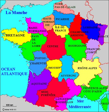 Country Map France