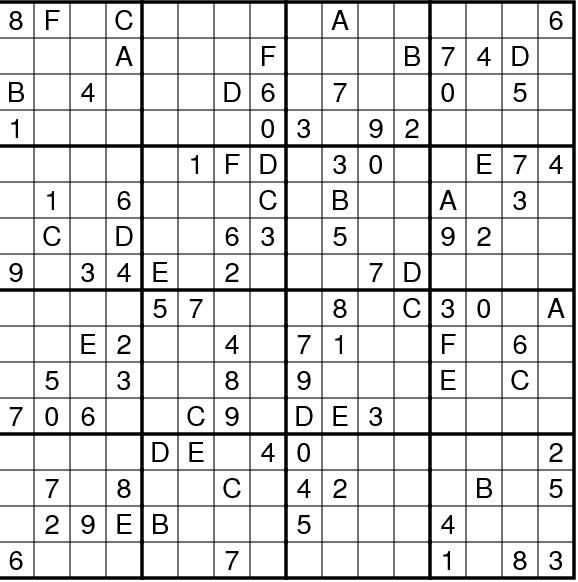Daily Sudoku Image