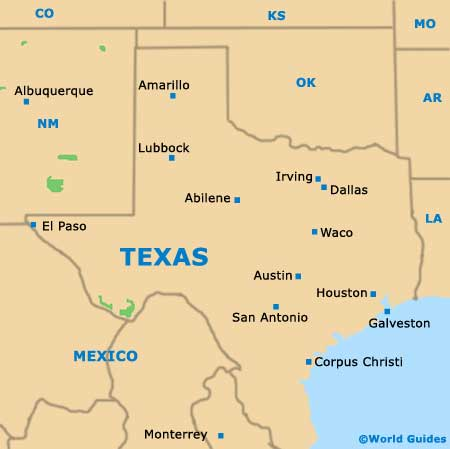 Dallas Map USA