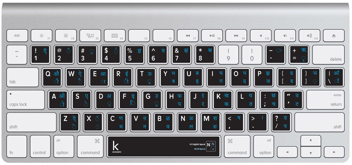Devanagari Keyboard Sticker
