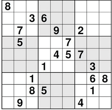Difficult Sudoku Game