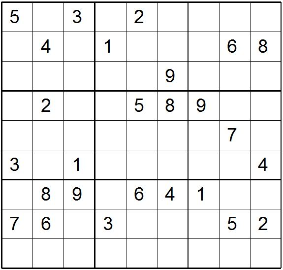 Difficult Sudoku Printable