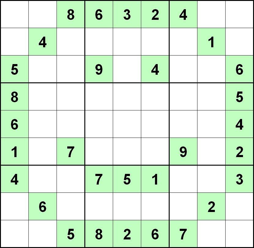 Difficult Sudoku