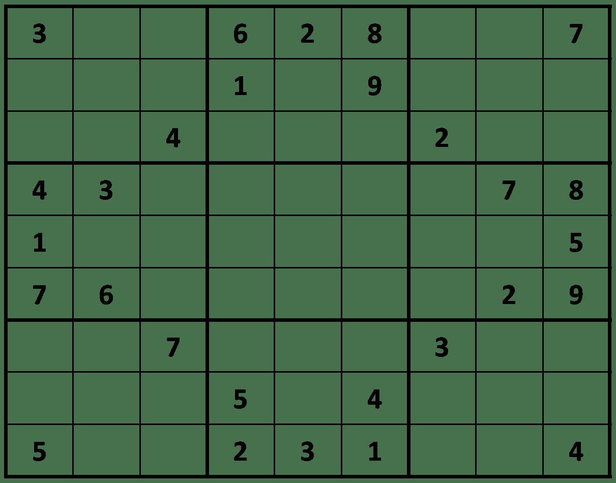 Difficulty Sudoku Printable