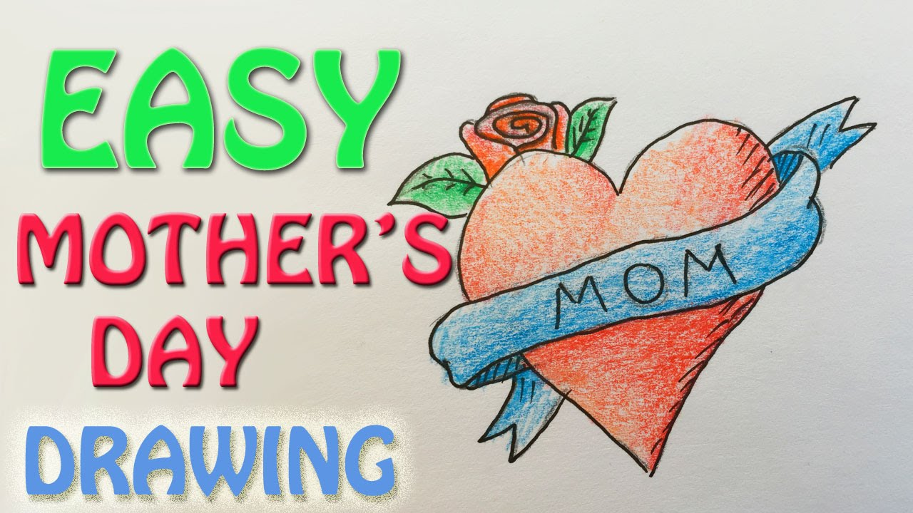 Draw Mothers Day Picture