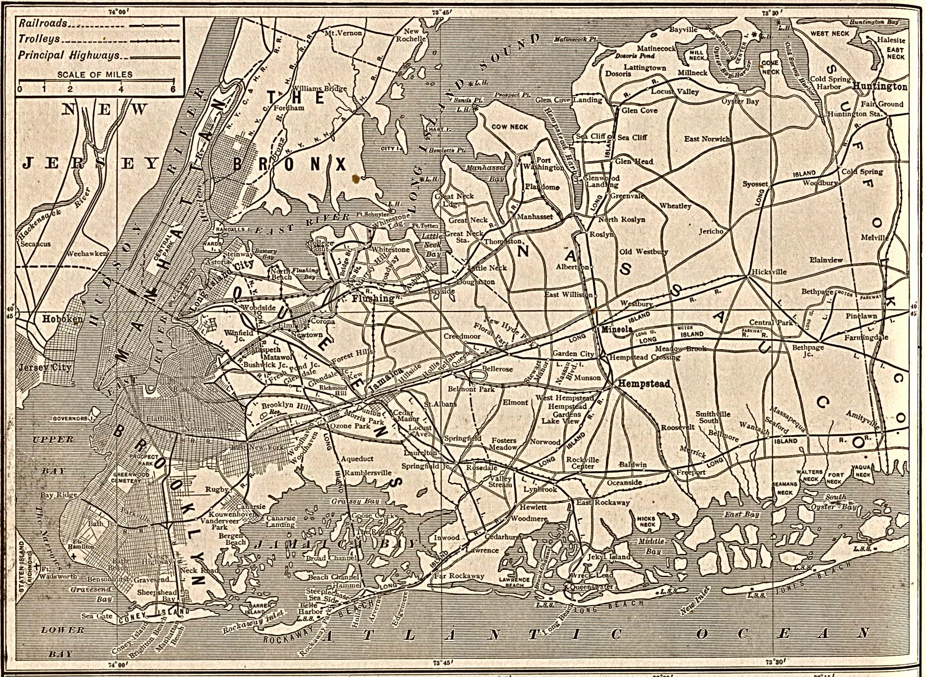 Early Map New York City