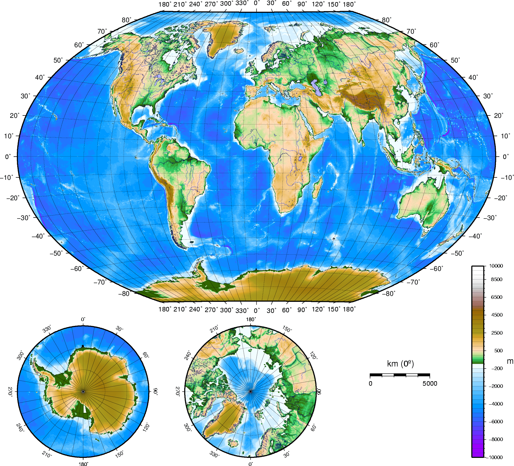 Earth Atlas Map