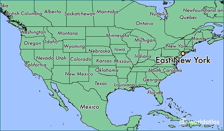 East New York Map