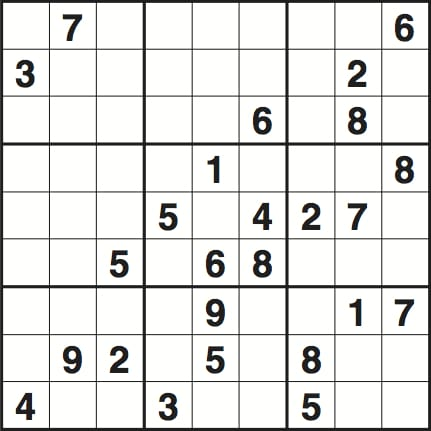 Easy Sudoku Images