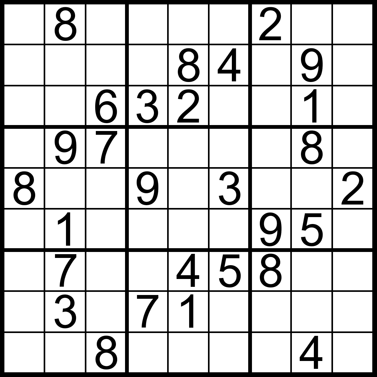 Easy Sudoku Printable Download