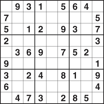 Easy Sudoku Puzzle For Kids