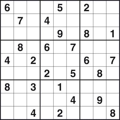 Easy Sudoku Template
