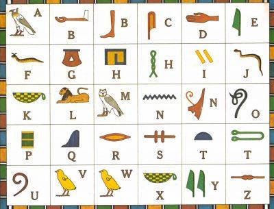 Egypt Alphabet Symbol
