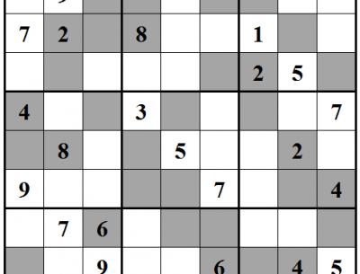 Even Sudoku Fun