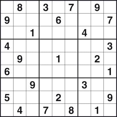 Free Easy Sudoku Printable