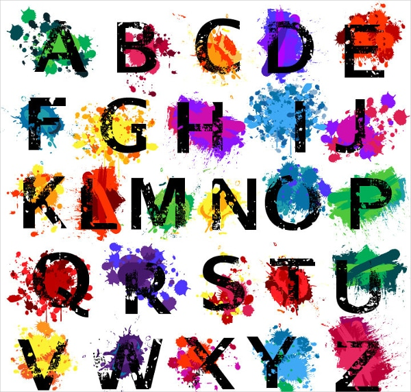 Graffiti Alphabet Chart