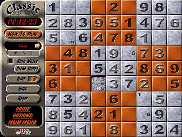 Free Sudoku Games for iPad