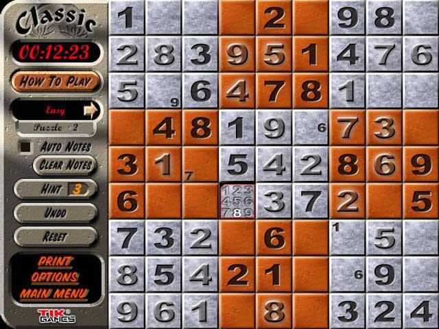 Free Sudoku Games for iPad