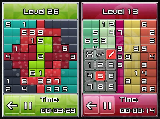 Free Sudoku Games for iPhone