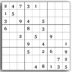 Free Sudoku Printable