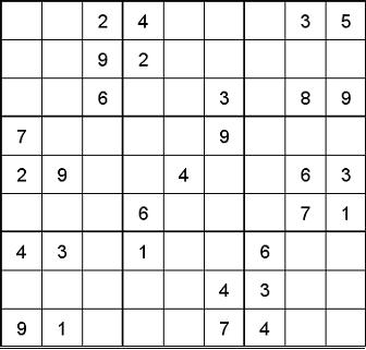 Free Sudoku Puzzles Online