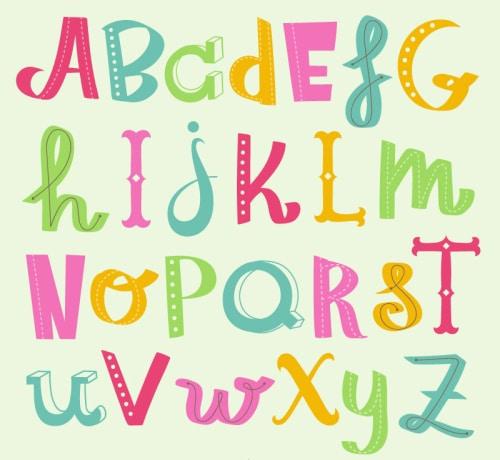Free Swedish Alphabet Chart
